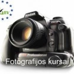 Fotografijos technika ir meninės fotografijos pagrindų kursai - Klaipėda